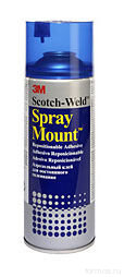 3M™ 7243 клей-спрей Scotch ® SprayMount, 400 г